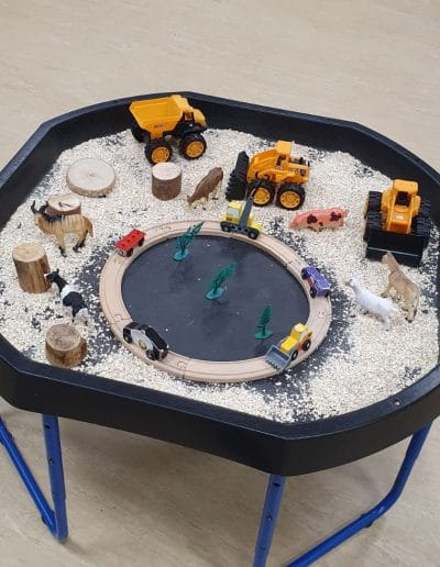 Busy Bee Sand Pit
